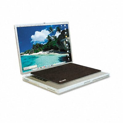 Allsop Travel Notebook Optical Mouse Pad, Nonskid Back, 13 X 9