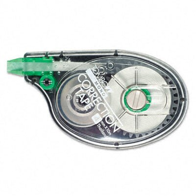 "Tombow Mono Correction Tape, Non-Refillable, 1/6"" X 394"""