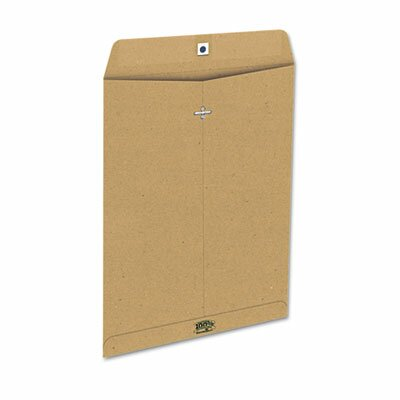 AMPAD Corporation Earthwise Envirotech Recycled Clasp Envelope, Side Seam, 9 X 12, 110/Box