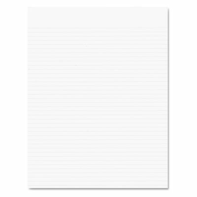 AMPAD Corporation Recycled Glue Top Pads, Narrow Rule, Letter, We, 50-Sheet Pads, 12/Pack