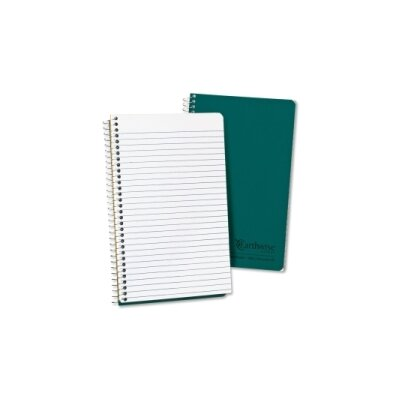 AMPAD Corporation Single-Subject Notebook, Narrow Rule, 8 x 5,  White Paper, 80 Sheets/Pad                                                     