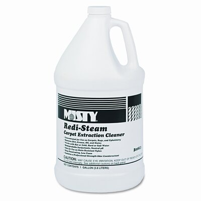 AmRep Misty Redi-Steam Carpet Cleaner, Pleasant Scent, 1 Gallon Bottle, 4/Carton