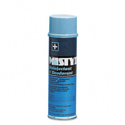 AmRep Misty Hospital Disinfectant & Deodorant, 16.5 Oz. Aerosol