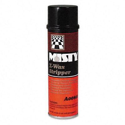 AmRep Misty X-Wax Floor Stripper, 18 Oz. Aerosol