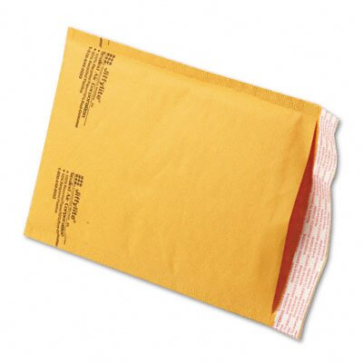Sealed Air Corporation Jiffylite Self-Seal Mailer, Side Seam, #0, Golden Brown, 250/carton