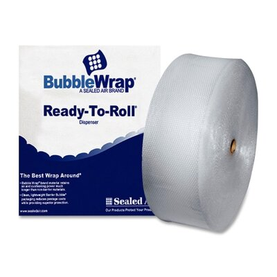 "Sealed Air Corporation Bubble Cushion® Cushioning Material, 12""x250' Roll, 3/16"" Bubble"