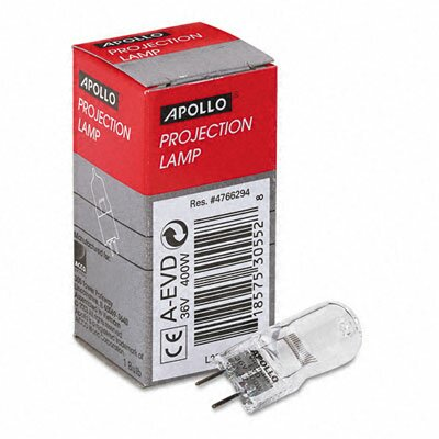 Apollo c/o Acco World Replacement Bulb for 3M 9550, 9800 Overhead Projectors, 36 Volt