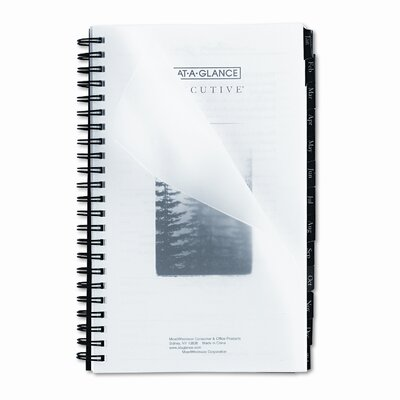 At-A-Glance Executive Fashion Weekly/Monthly Planner Refill, 4 5/8 x 8, 2014