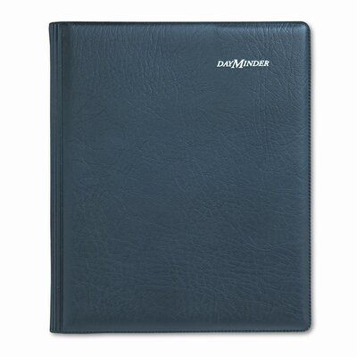 At-A-Glance Executive Weekly/Monthly Ruled Planner, 6-7/8 x 8-3/4, Black, 2013