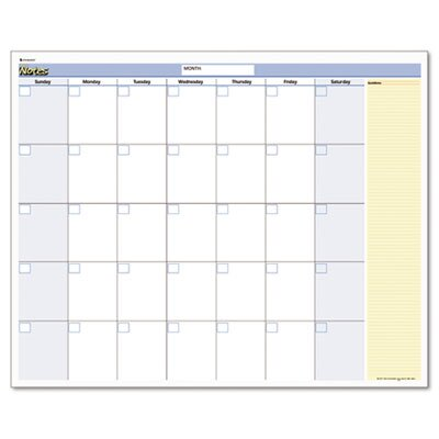 At-A-Glance QuickNotes Reversible Erasable Monthly/Yearly Wall Calendar, 16 x 12, 2014