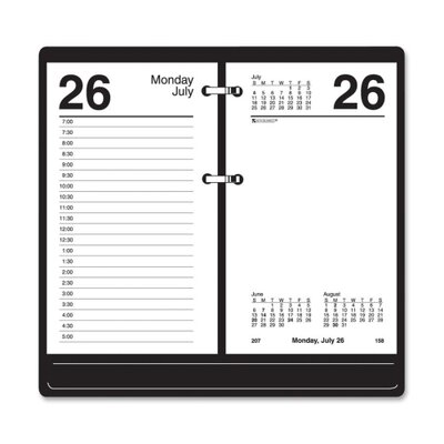 "At-A-Glance Loose-leaf Desk Calendar Refill , 12 Months Jan/Dec, 3-1/2""x6"", WE, 2013"