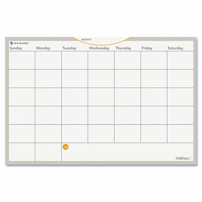 At-A-Glance WallMates Self-Adhesive Dry-Erase Monthly Planning Surface White Board