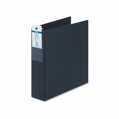 "Avery Consumer Products Economy Round Ring Reference Binder, 2"" Capacity, Black"
