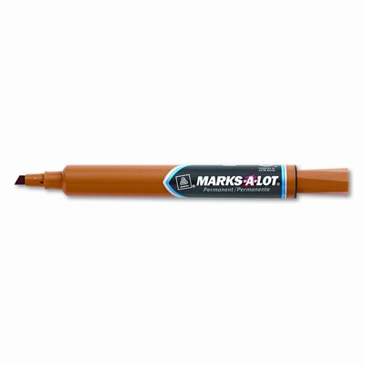 Avery Consumer Products Marks-A-Lot Permanent Marker, Large Chisel Tip, 12/Pack