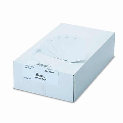 Avery Consumer Products Paper Marking Tags, 3 1/4 X 1 15/16 (1,000/Box)