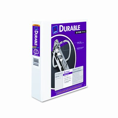 """Avery Consumer Products Durable Vinyl View Binder, 11 x 8-1/2, 1"""" Capacity"""