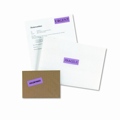 Avery Consumer Products High-Visibility Laser Labels, 1 X 2-5/8, 750/Pack