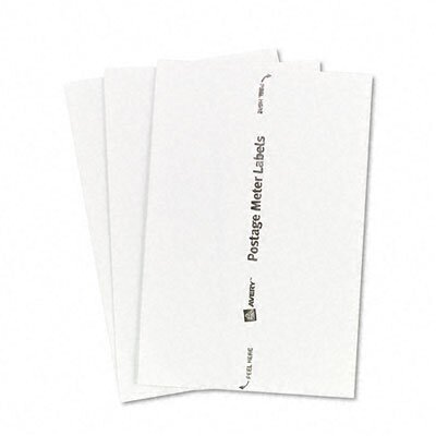 Avery Consumer Products Postage Meter Labels, Personal Post Office e700, 1-3/16 x 6, White, 60/Pack