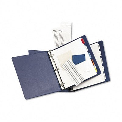 Avery Consumer Products Worksaver Pocket Dividers with Insertable Multicolor Tabs (1 set / Box)