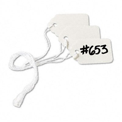 Avery Consumer Products Price Tags, Paper/Twine, 1-1/2 x 1, White, 1000 per Box