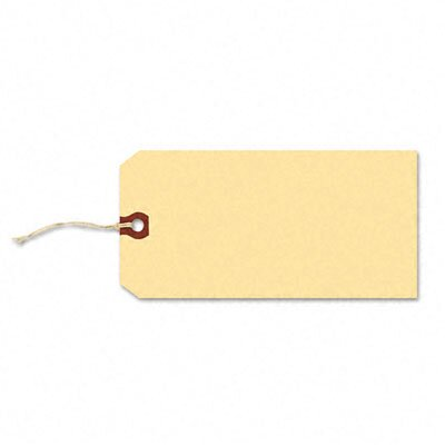 Avery Consumer Products Paper/Twine Shipping Tags, 2 3/4 X 1 3/8 (1,000/Box)