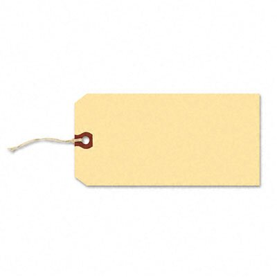 Avery Consumer Products Paper/Twine Shipping Tags, 4 1/4 X 2 1/8 (1,000/Box)