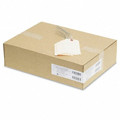 Avery Consumer Products Paper/Double Wire Shipping Tags, 5 3/4 X 2 7/8 (1,000/Box)