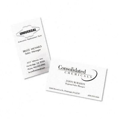 Avery Consumer Products 5376 Laser Business Cards, 250/Pack