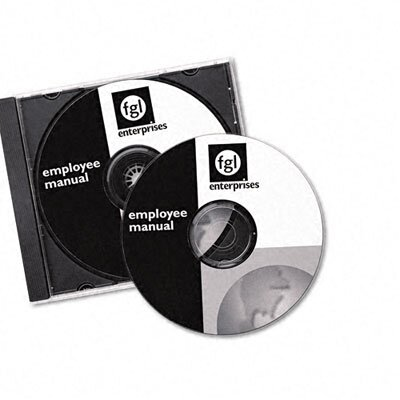 Avery Consumer Products Laser CD/DVD Labels, Matte White, 40/Pack