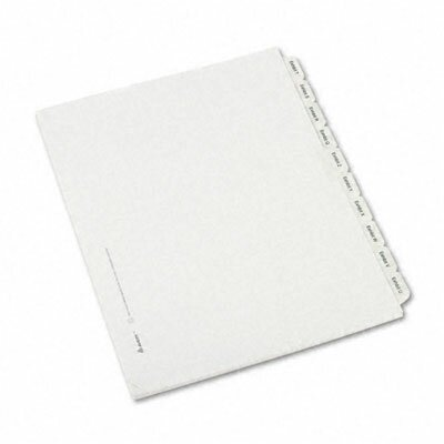Avery Consumer Products Allstate-Style Legal Index Dividers, 25-Tab, Exhibit A-Z, Letter, 26/Pack