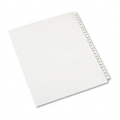 Avery Consumer Products Allstate-Style Letter Size Tab Dividers, 25-Tab, 176-200 Tab Title