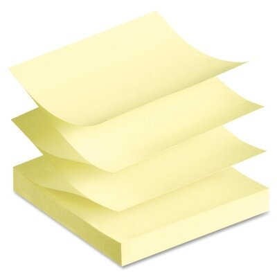 Avery Consumer Products Fanfold Sticky Note (Pack of 24)