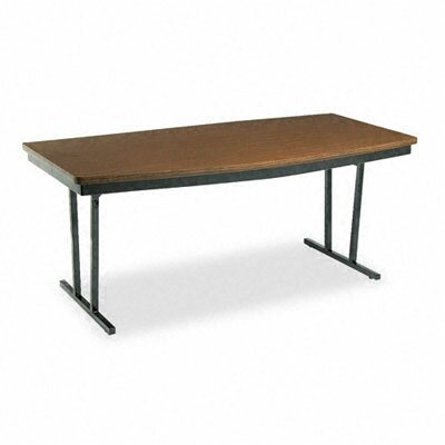 BARRICKS MANUFACTURING CO                          Economy Conference Folding Table, Boat, 72W X 36D X 30H