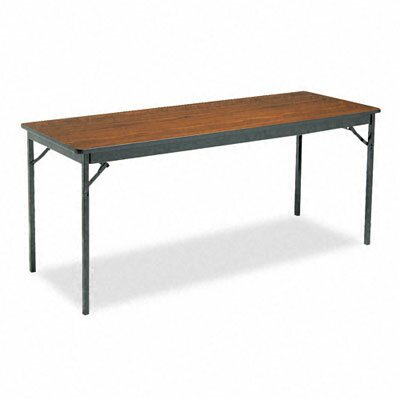 BARRICKS MANUFACTURING CO                          Special Size Folding Table, Rectangular, 72W X 24D X 30H