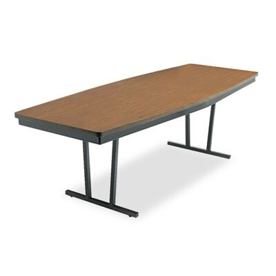 BARRICKS MANUFACTURING CO                          Economy Conference Folding Table, Boat, 96W X 36D X 30H