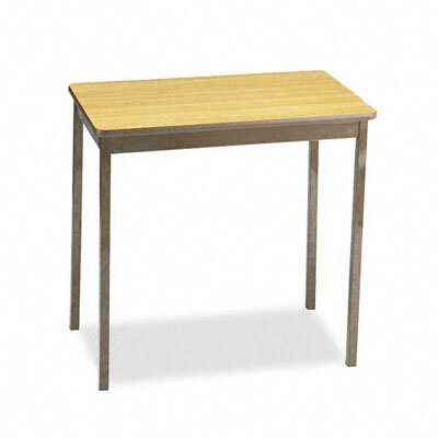 BARRICKS MANUFACTURING CO                          Utility Table, Rectangular, 30W X 18D X 30H