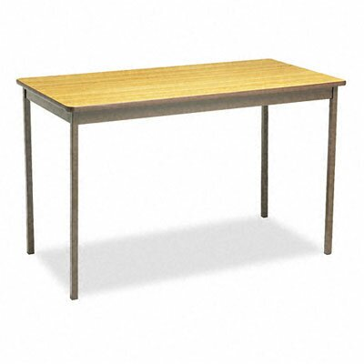 BARRICKS MANUFACTURING CO                          Utility Table, Rectangular, 48W X 24D X 30H