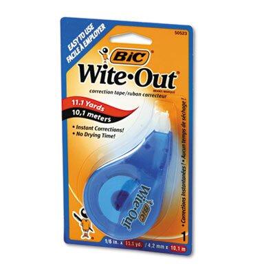 Bic Corporation Non-Refillable Wite-Out Ez Correct Correction Tape
