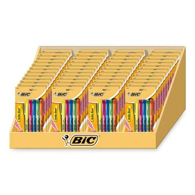 Bic Corporation Highlighters, Chisel Tip, Nontoxic, 48 per Set, Assorted