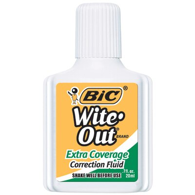 Bic Corporation Bic Wite Out Correction Fluid Extra