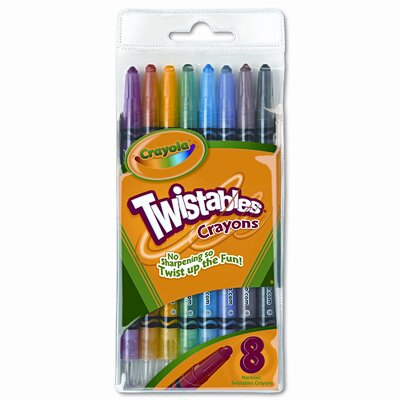 Crayola LLC Twistable Crayons (8/Box)