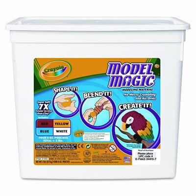 Crayola LLC Model Magic Modeling Compound, 8 Oz Each, 2Lbs