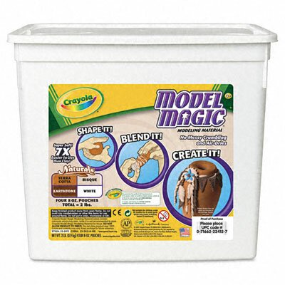 Crayola LLC Model Magic Modeling Compound, 2 lbs