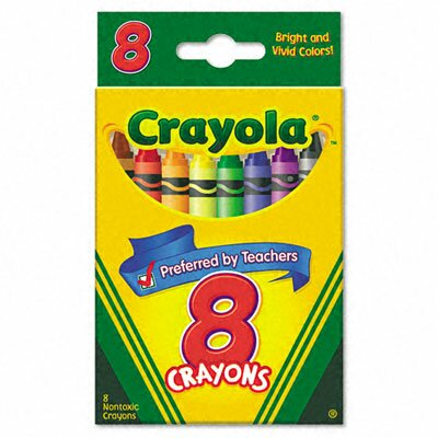 Crayola LLC Classic Color Pack Crayons (8/Box)