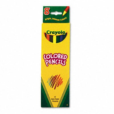 Crayola LLC 3 Mm Woodcase Pencils (8/Set)