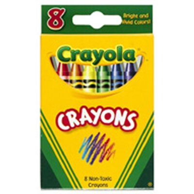 Crayola LLC Crayola Crayons 8 Color Peggable