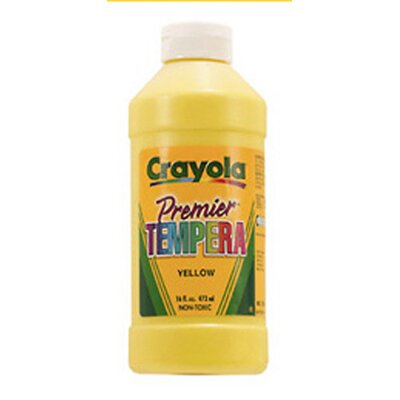 Crayola LLC Tempera Paint 16 Oz Black