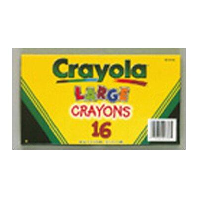 Crayola LLC Crayola Large Size Crayon 16pk