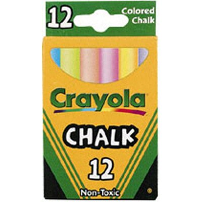 Crayola LLC Crayola Colored Low Dust Chalk