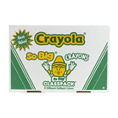 Crayola LLC Crayons So Big Class Pack 200ct